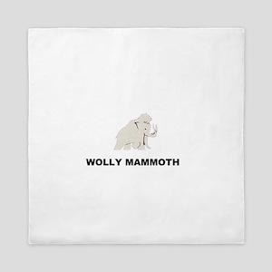 Wolly mammoth Queen Duvet