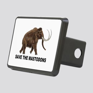 Save the mastodons Rectangular Hitch Cover