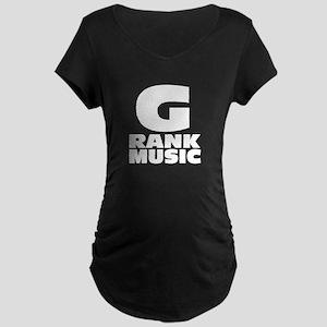 G.Rank Music (Orignial) Maternity Dark T-Shirt