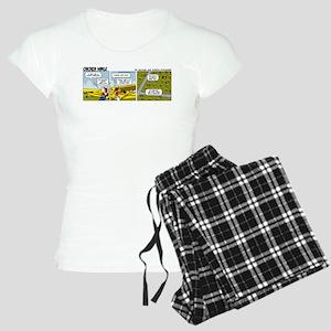 0662 - Yellow Piper Cub Women's Light Pajamas