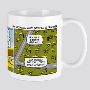 0662 - Yellow Piper Cub Mug