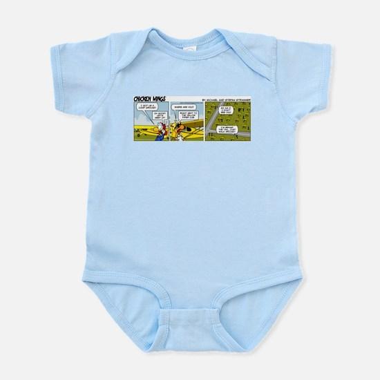 0662 - Yellow Piper Cub Infant Bodysuit