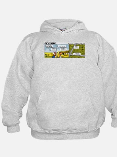 0662 - Yellow Piper Cub Hoodie