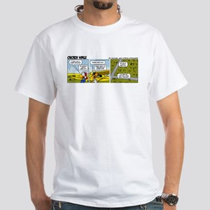 0662 - Yellow Piper Cub White T-Shirt