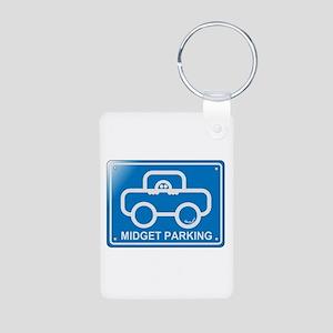 Midget Aluminum Photo Keychain