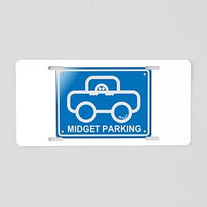 Midget Aluminum License Plate