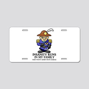Insanity Aluminum License Plate