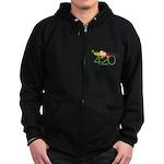 Stay High 420 Zip Hoodie (dark)