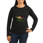 Stay High 420 Women's Long Sleeve Dark T-Shirt