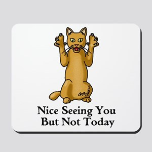 Not Today Mousepad