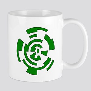 Freehand Concentric Circle Vectors Mug