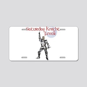 Knight fever Aluminum License Plate