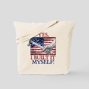 Built It Myself Tote Bag