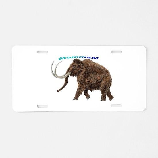 Mammoth Aluminum License Plate