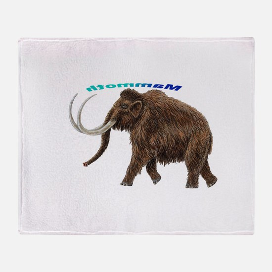 Mammoth Throw Blanket