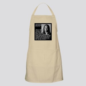 Beckwith Feeling Quote 2 Apron