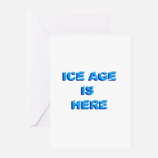 New ice age Greeting Card