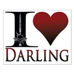 I Heart Darling Small Poster