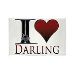 I Heart Darling Rectangle Magnet (100 pack)