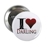"""I Heart Darling 2.25"""" Button"""