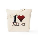 I Heart Darling Tote Bag