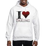 I Heart Darling Hooded Sweatshirt