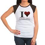 I Heart Darling Women's Cap Sleeve T-Shirt