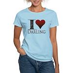 I Heart Darling Women's Light T-Shirt
