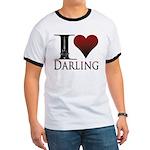 I Heart Darling Ringer T