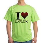 I Heart Darling Green T-Shirt
