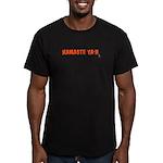 Namaste Ya'll Men's Fitted T-Shirt (dark)