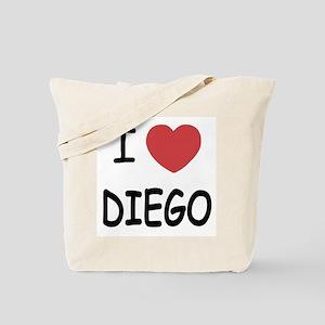 I heart DIEGO Tote Bag