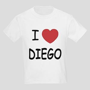 I heart DIEGO Kids Light T-Shirt