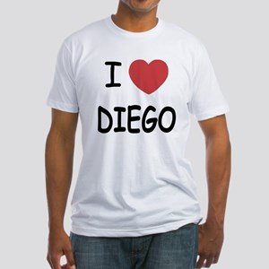 I heart DIEGO Fitted T-Shirt