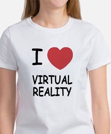 I heart virtual reality Women's T-Shirt