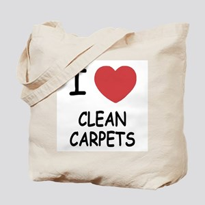 I heart clean carpets Tote Bag