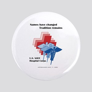 "Navy Corpsman 3.5"" Button"