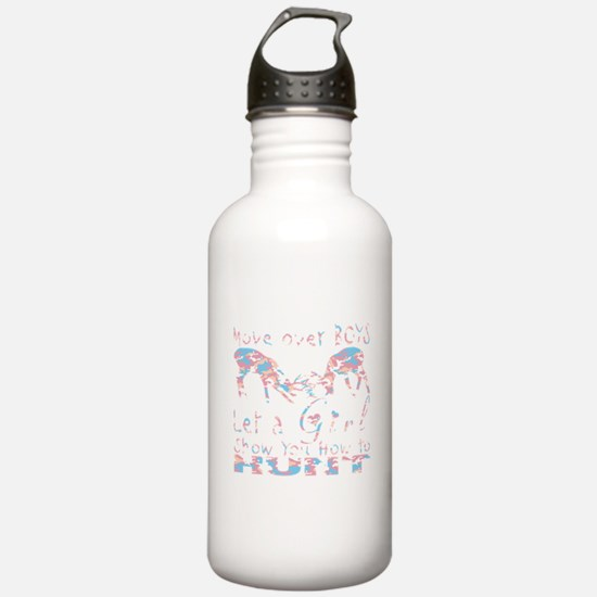GIRL DEER HUNTER Water Bottle