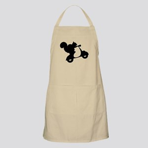 Squirrel on Scooter Apron