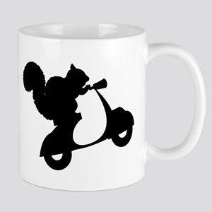 Squirrel on Scooter Mug
