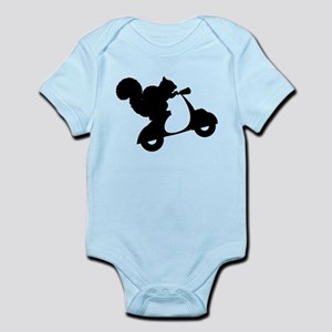 Squirrel on Scooter Infant Bodysuit