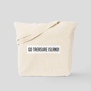 Go Treasure Island Tote Bag