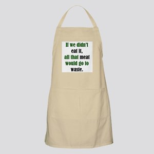 Meat Waste BBQ Apron
