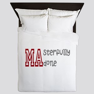 Masterfully Done Queen Duvet