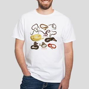 Snake Show White T-Shirt