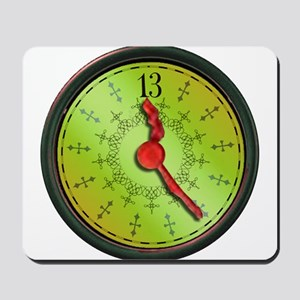 All 13th Hour Clock items Mousepad
