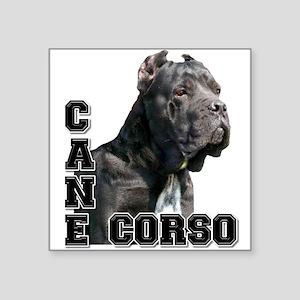 """Cane Corso Square Sticker 3"""" x 3"""""""