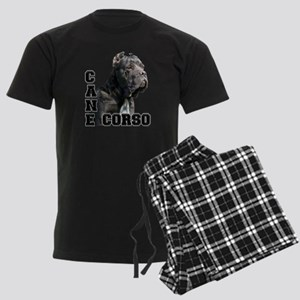 Cane Corso Men's Dark Pajamas