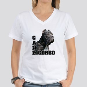 Cane Corso Women's V-Neck T-Shirt