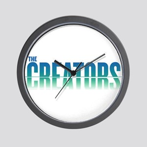 The Creators Logo Wall Clock